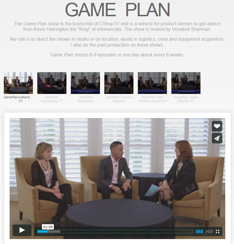 Game Plan Videos